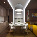 Как правильно создать дизайн коричневой квартиры