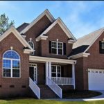 Красивый дизайн коричневого дома