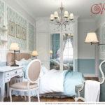 Квартира голубого цвета