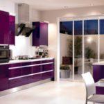 Квартира, оформленная в фиолетовом цвете