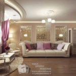Квартира с дизайном в коричневых тонах