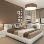Квартира с уютным дизайном в коричневом цвете