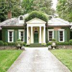 Оформляем дизайн зеленого дома правильно