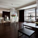 Несколько правил оформления дизайна квартиры в коричневом цвете