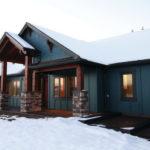 Обустройство дизайна дома в синем цвете