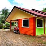 Оформление дизайна дома оранжевого цвета