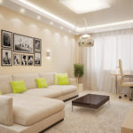 Оформляем дизайн бежевой квартиры