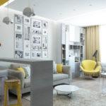 Оформляем дизайн серой квартиры