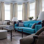 Особенности создания дизайна синей квартиры