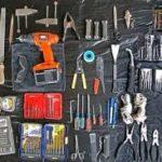 Пример набора инструментов для дома
