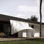 Проект минималистического дизайна современного дома