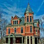 Шикарный дизайн оранжевого дома