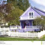 Особенности оформления дизайн фиолетового дома