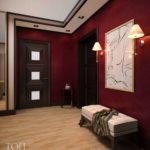 Сочетание бордового цвета в интерьере квартиры