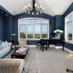 Советы по оформлению дизайна синей квартиры