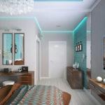 Создаем дизайн бирюзовой квартиры