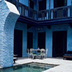 Создаем красивый дизайн голубого дома