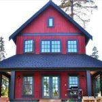 Создаем правильно дизайн бордового дома