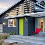 Как создать дизайн синего дома
