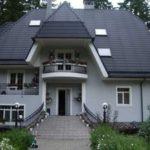 Стильный современный дизайн серого дома