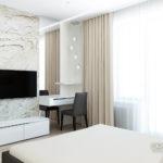 Светлые оттенки серого в дизайне квартиры