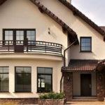 Светлый вариант дизайн коричневого дома