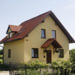 Уютный дизайн бежевого дома