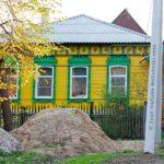 Уютный дизайн желтого дома