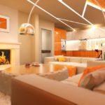 Выбираем дизайн оранжевой квартиры