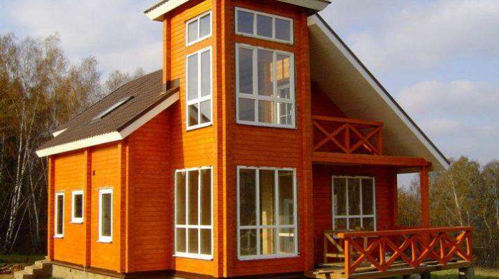 Яркость дизайна дома в оранжевых тонах