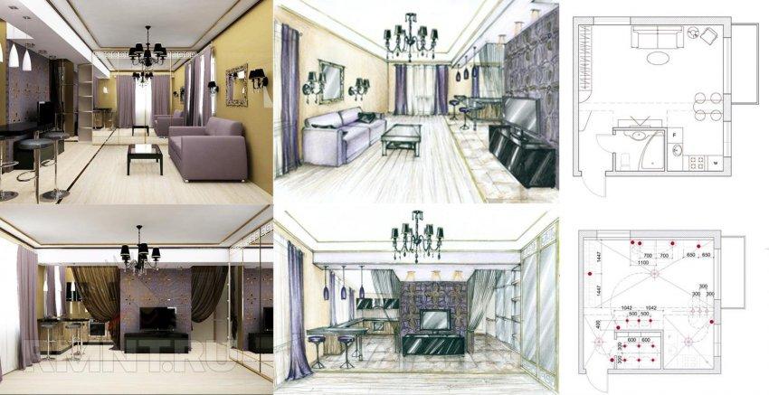 Как сделать чертеж комнаты фото 434