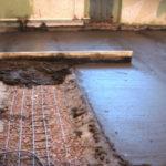 Этапы выполнения бетонной стяжки