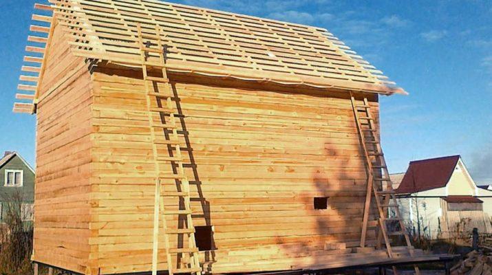 Из бруса построить дом недорого