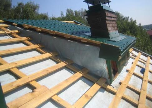Как сделать обрешетку крыши