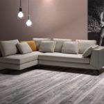 Как удачно расположить угловой диван в прямоугольной комнате
