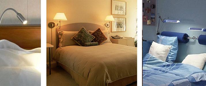 Как выбрать бра у изголовья кровати