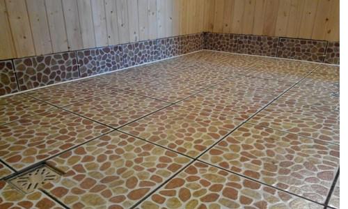 Керамическая плитка и теплый пол