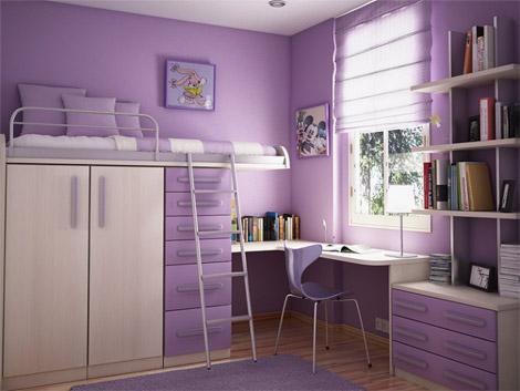 Мебель в маленькую комнату. Идеи оформления