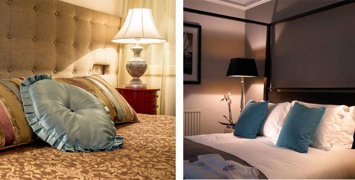 Настольные лампы и торшеры в спальне