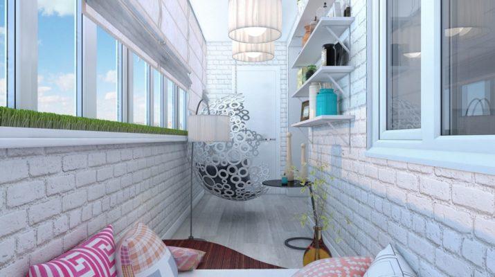Необычные идеи по использованию балконов