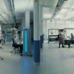 Офисный кабинет-трансформер — занимает менее 1 квадратного метра площади.