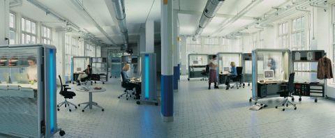 Офисный кабинет-трансформер - занимает менее 1 квадратного метра площади.