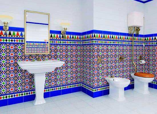 Особенности испанской плитки для ванной комнаты