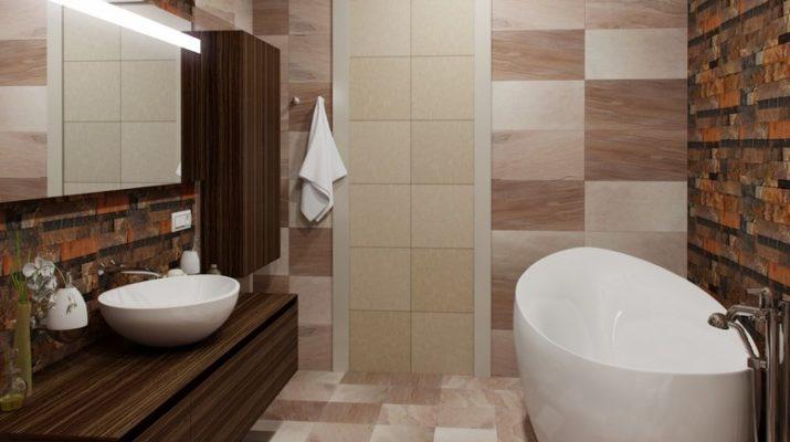 Особенности ванной комнаты в стиле модерн