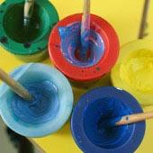 Полимерно-порошковые краски