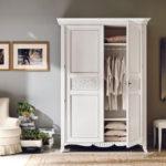 Как подобрать шкаф для одежды в стиле Прованс