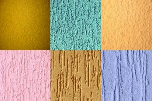 Текстурная краска для стен: инновации и качество
