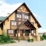 Типовые проекты брусовых домов