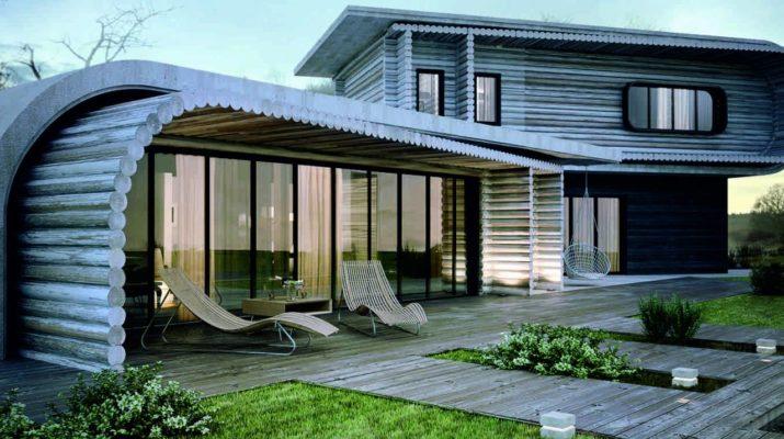 Удачная реконструкция деревянного дома