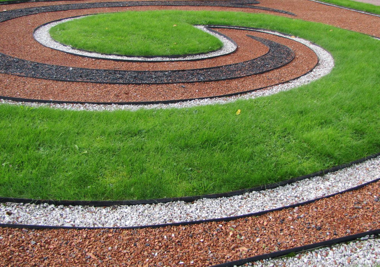 Ландшафтный дизайн с применением декоративного щебня